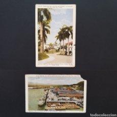Postales: LOTE POSTALES ANTIGUAS PANAMÁ CANAL PM001. Lote 244500460