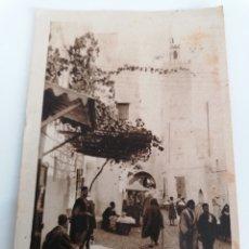 Postales: TETUAN. PROTECTORADO. MEZQUITA SIDI ALI BEN MESSUD. A VALENCIA, 1941. SELLO PROTEC. MARRUECOS. Lote 244785910