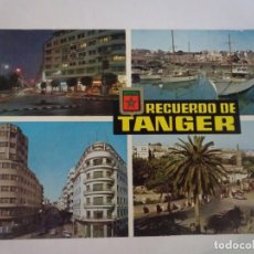Postales: ANTIGUA POSTAL CPSM , TANGER, MULTI VISTAS , VER FOTOS. Lote 245039120