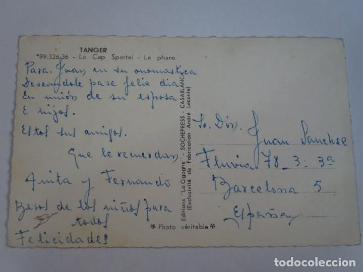 Postales: ANTIGUA POSTAL CPSM , TÁNGER, EL FARO, VER FOTOS - Foto 2 - 245040125