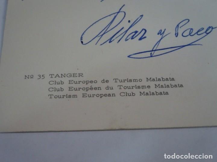 Postales: ANTIGUA POSTAL CPSM , TÁNGER, CLUB EUROPEO DE TURISMO MALABATA, VER FOTOS - Foto 4 - 245047535