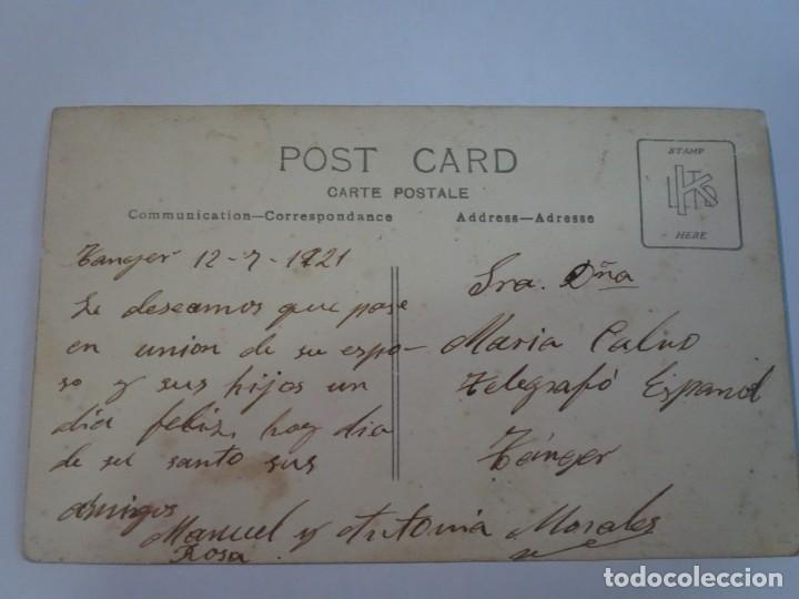 Postales: ANTIGUA POSTAL CPA, TÁNGER, VISTA PARCIAL, 1921, VER FOTOS - Foto 2 - 245052330