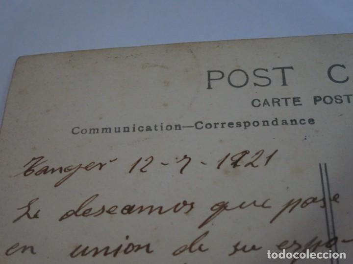 Postales: ANTIGUA POSTAL CPA, TÁNGER, VISTA PARCIAL, 1921, VER FOTOS - Foto 4 - 245052330
