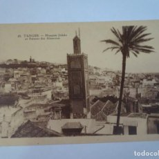 Postales: ANTIGUA POSTAL CPA, TÁNGER, LA MEZQUITA, VER FOTOS. Lote 245054000