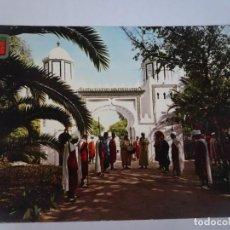 Postales: ANTIGUA POSTAL CPSM, TÁNGER, CLUB EUROPEO DE TURISMO MALABATA, VER FOTOS. Lote 245065910