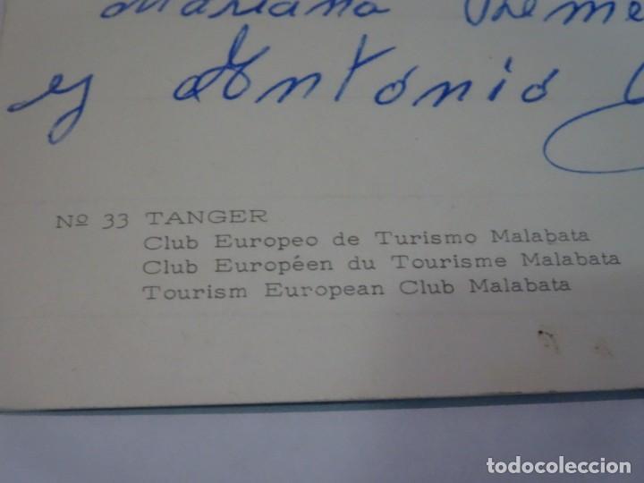 Postales: ANTIGUA POSTAL CPSM, TÁNGER, CLUB EUROPEO DE TURISMO MALABATA, VER FOTOS - Foto 4 - 245065910