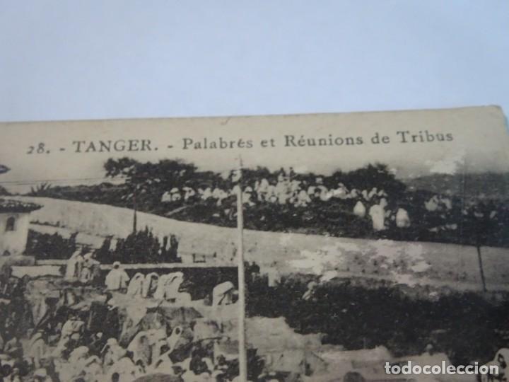 Postales: ANTIGUA POSTAL CPA, TÁNGER, PALABRÉS ET RÉUNIONS DE TRIBUS, VER FOTOS - Foto 2 - 245066670
