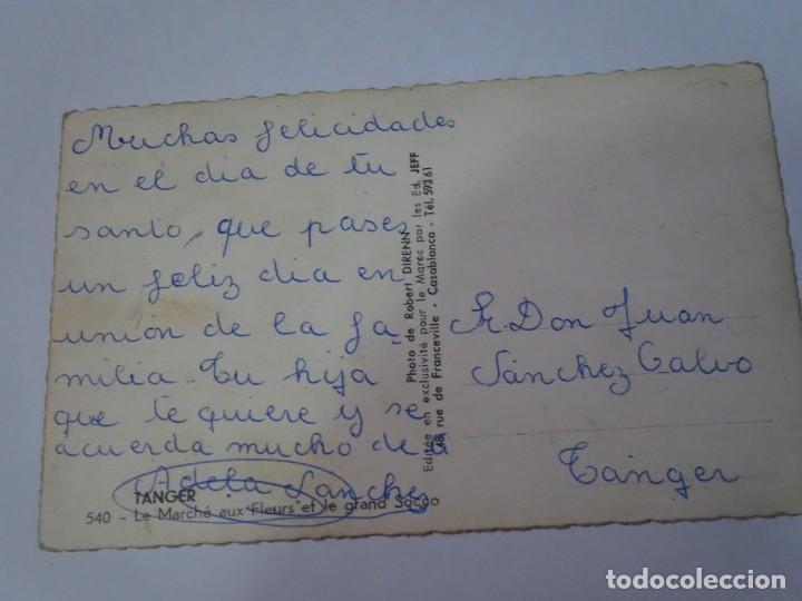 Postales: ANTIGUA POSTAL CPSM, TÁNGER, MERCADO DE FLORES, VER FOTOS - Foto 2 - 245074955