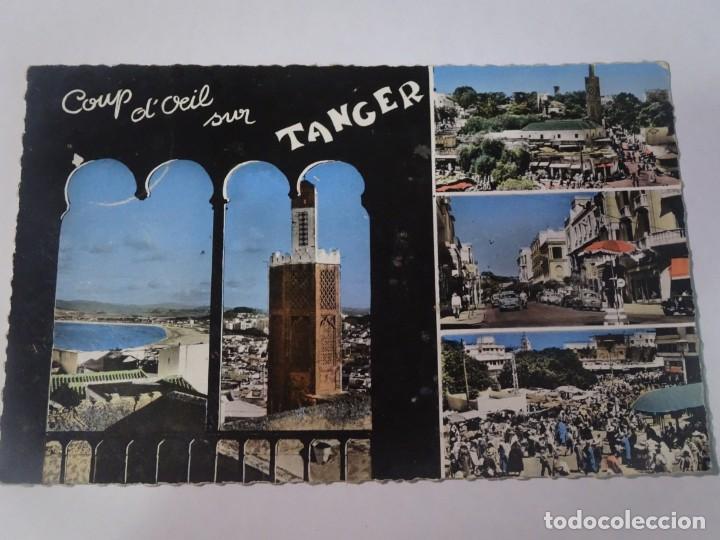 ANTIGUA POSTAL CPSM, TÁNGER, MULTI VISTAS, VER FOTOS (Postales - Postales Temáticas - Ex Colonias y Protectorado Español)