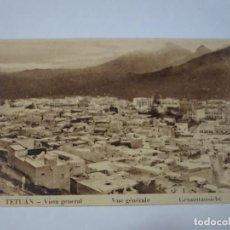 Postales: ANTIGUA POSTAL CPSM, TETUÁN, VISTA GENERAL, VER FOTOS. Lote 245083795