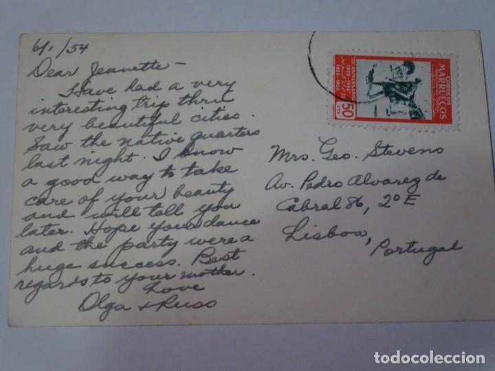 Postales: ANTIGUA POSTAL CPA, TETUÁN, CALLE TÍPICA DEL BARRIO ÁRABE, VER FOTOS - Foto 2 - 245084520