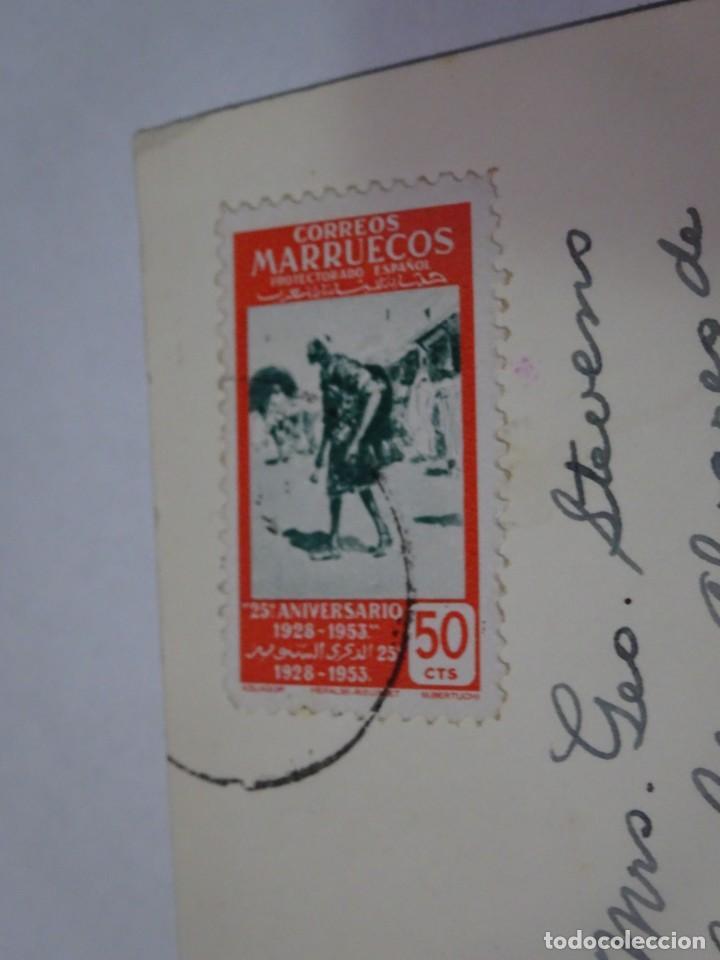 Postales: ANTIGUA POSTAL CPA, TETUÁN, CALLE TÍPICA DEL BARRIO ÁRABE, VER FOTOS - Foto 4 - 245084520