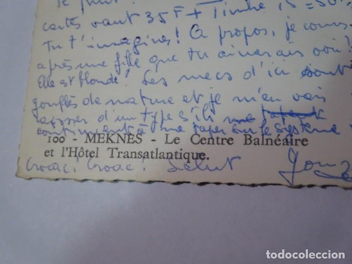 Postales: ANTIGUA POSTAL CPSM , MARRUECOS - MEKNES , VER FOTOS - Foto 5 - 245090250