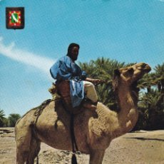 Postales: MARRUECOS, SAHARA, MEHARISTAS. ED. ESCUDO DE ORO Nº 26. AÑO 1966. ESCRITA. Lote 245475740