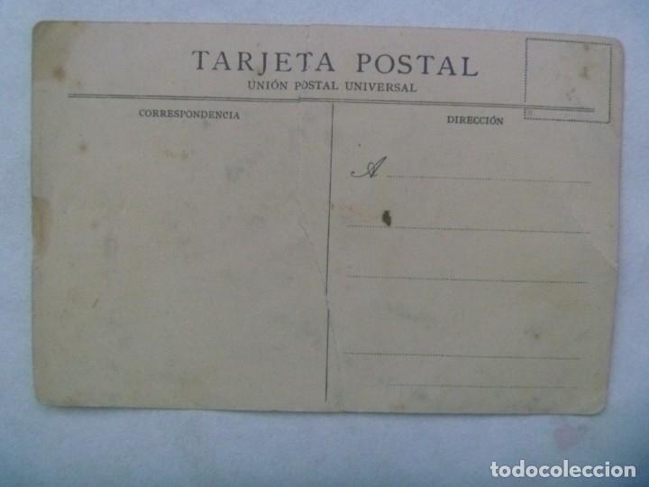 Postales: POSTAL DE ESPAÑA EN AFRICA : EL ESTRECHO DE GIBRALTAR EN EL PORVENIR. PRINCIPIOS DE SIGLO. ROTA !!! - Foto 2 - 245649195