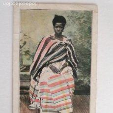 Postales: GUINEA ECUATORIAL - GUINEA ESPAÑOLA - MUJER DE SAN PABLO DE LOANDA - P47461. Lote 245968350