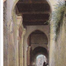 Postales: MARRUECOS, TANGER ENTRÉE PALAIS DU SULTAN. ED. A. BENZAQUEN. COLOREADA. CIRCULADA EN 1912. Lote 246531940