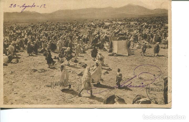 EL RIF-ZOCO EL YEEMA DE MAZUZA-AÑO 1912- HAUSER (Postales - Postales Temáticas - Ex Colonias y Protectorado Español)