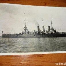 Postales: ANTIGUA TARJETA POSTAL DEL CRUCERO VICTORIA EUGENIA DEL FOTOGRFO ROS DE CEUTA ALHUCEMAS 13-11-1925. Lote 262510215
