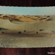 Postales: FOTO POSTAL DEL SAHARA ESPAÑOL, PAISAJE DE DUNAS EN EL DESIERTO, N. 35, ED. FOTO A. DE PORRAS, NO CI. Lote 253477085