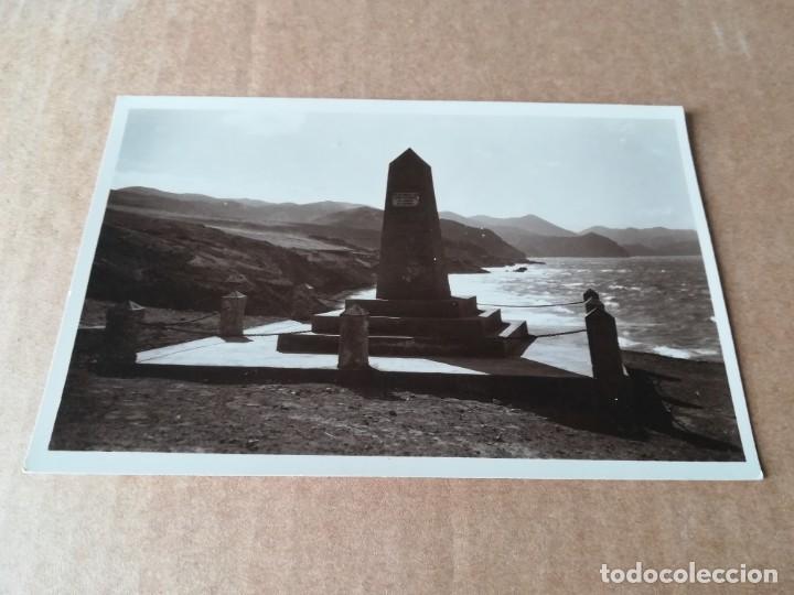OVELISCO CONMEMORATIVO DEL DESEMBARCO - EDICIONES FOTO ESPAÑA VILLA ALHUCEMAS (Postales - Postales Temáticas - Ex Colonias y Protectorado Español)