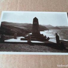 Postales: OVELISCO CONMEMORATIVO DEL DESEMBARCO - EDICIONES FOTO ESPAÑA VILLA ALHUCEMAS. Lote 253853580