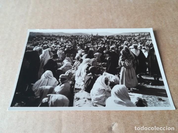 COSTUMBRES RIFEÑAS ZOCO - EDICIONES FOTO ESPAÑA VILLA ALHUCEMAS (Postales - Postales Temáticas - Ex Colonias y Protectorado Español)