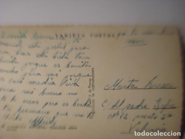 Postales: SAHARA RARA POSTAL DE LA COLONIA DE ESPAÑA EN AFRICA - CAMELLOS ABREVANDO AÑOS 1950 - Foto 2 - 254466050