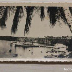 Postales: FOTOGRAFÍA SANTA ISABEL, FERNANDO POO, 8,50X6 CM. Lote 260504280