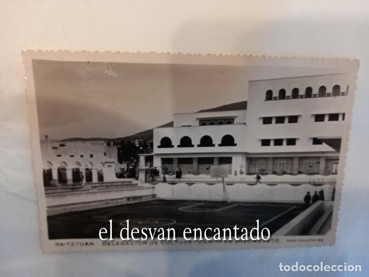TETUAN. DELEGACIÓN DE CULTURA. CAMPO DE BALONCESTO. FOT. CALATAYUD (Postales - Postales Temáticas - Ex Colonias y Protectorado Español)