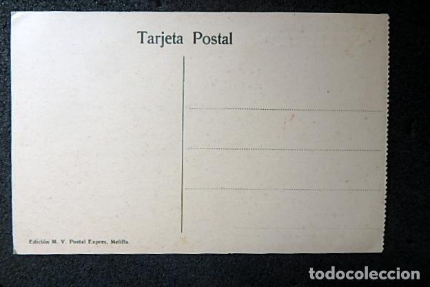 Postales: (JX-210515)Postal Campaña del Rif,Ras Medua,General Sanjurjo en el fortín - Foto 4 - 262090145