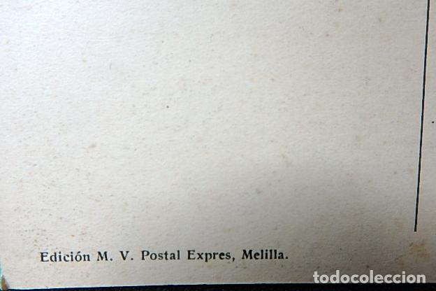 Postales: (JX-210515)Postal Campaña del Rif,Ras Medua,General Sanjurjo en el fortín - Foto 5 - 262090145