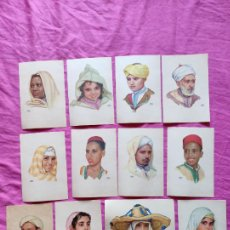 Postales: 12 POSTALES TETUAN MARRUECOS - ERWIN HUBERT - SERIE COMPLETA. Lote 262252815