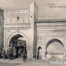 Postales: TETUÁN - PUERTA DE TÁNGER. Lote 263160715