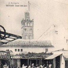 Postales: TETUÁN - ZOCO DEL PAN. Lote 263160855