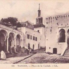 Postales: MARRUECOS TANGER PLACE DE LA CASBAH. ED. LL Nº 161. SIN CIRCULAR. Lote 263572305