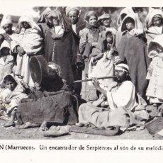 Postais: MARRUECOS TETUAN UN ENCANTADOR DE SERPIENTES. ED. FOTO RUBIO Nº 30. SIN CIRCULAR. Lote 265215394