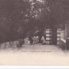 Postais: MARRUECOS TANGER CHEMIN DE LA MONTAGNE. ED. P.Z. REVERSO SIN DIVIDIR. SIN CIRCULAR. Lote 267398119