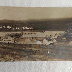 Postales: R-49.- POSTAL FOTOGRAFICA DE -- CAMPAMENTO DE CEGANGA.- ( MARRUECOS ) ESCRITA. Lote 267444869