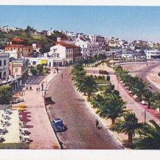 Postales: MARRUECOS TANGER AVENIDA ESPAÑA. ED. LA CIGOGNE. BYN COLOREADA. SIN CIRCULAR. Lote 269287638