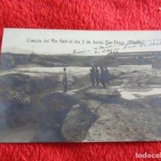 Postales: POSTAL FOTOGRAFICA DE LA CRECIDA DEL RIO HERT - DAR DRIUS (MELILLA). Lote 270091228