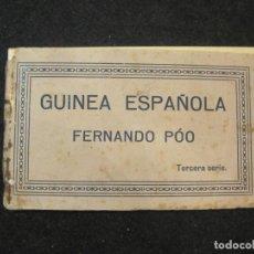 Postales: GUINEA ESPAÑOLA-FERNANDO POO-BLOC CON 10 POSTALES ANTIGUAS-VER FOTOS-(81.907). Lote 270637083