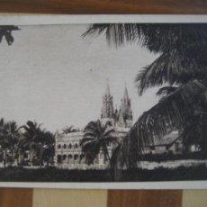 Postais: GUINEA ESPAÑOLA. FERNANDO POO. Nº 1 CATEDRAL DE SANTA ISABEL. ESCRITA 1945. Lote 271975333