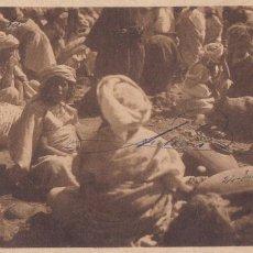Postales: MARRUECOS, EL RIF DETALLE DE UN ZOCO. ED. FOTO J. ORTIZ ECHAGÜE SERIE 2 Nº 17. CIRCULADA EN 1912. Lote 277628873