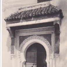 Postales: MARRUECOS, TANGER ENTRÉE DE LA MOSQUÉE DES AÏSSAOUAS. ED. LL Nº 96. SIN CIRCULAR. Lote 277755223