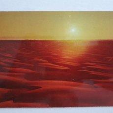 Cartes Postales: SAHARA ESPAÑOL - ATARDECER EN EL DESIERTO - LAXC - P58081. Lote 278405198
