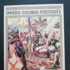 Postales: BILHETE POSTAL DE BOAS FESTAS - ESTADO PORTUGUÊS DA ÍNDIA. Lote 278883533
