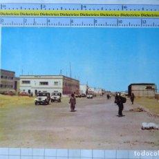 Postales: POSTAL DEL SAHARA ESPAÑOL. PROTECTORADO ESPAÑOL. EL AAIUN LA CIUDAD CRECE. JEEP 4X4 . 3383. Lote 281834253