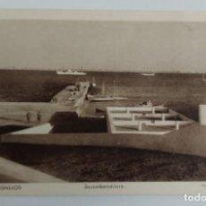 Postales: ANTIGUA POSTAL DE VILLA CISNEROS DESEMBARCADERO - FOTO HERNÁNDEZ GIL Nº 84 - NO CIRCULADA - MUY DIFI. Lote 287099368