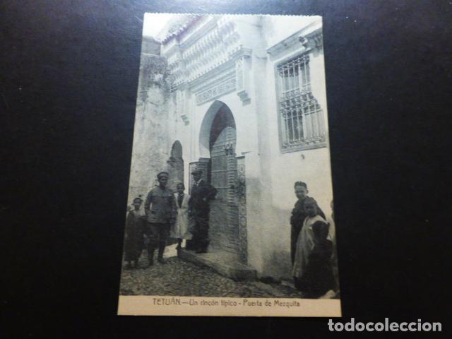 TETUÁN MARRUECOS ESPAÑOL RICON TIPICO (Postales - Postales Temáticas - Ex Colonias y Protectorado Español)
